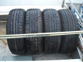 4x Falken 215 60 16 tyres excellent condition 7mm and 8mm tread