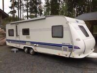 Hooby 650 UMF Prestige 2007 5 berth Touring Caravan will go quickly!
