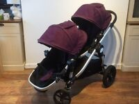Baby Jogger City Select Double Stroller - Purple
