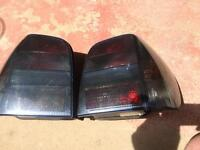 Be polo blacked out rear lights 6n1
