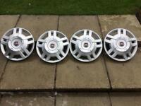 Fiat wheel trims