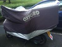 Lexmoto FMR 125 with helmet and more
