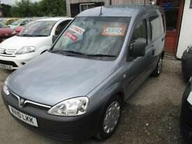 VAUXHALL COMBO TOUR 1.3 CDTi 16V 1700 5dr Easytronic (silver) 2010