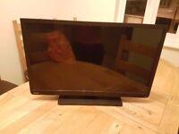 32 Toshiba Full HD 1080 LED TV builtin DVD player + Freeview