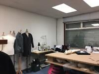 Fashion studio, workspace, designer, fashion student