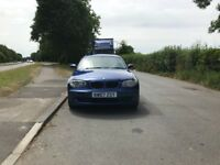 Automatic BMW 1 series 118I for sale, new MOT, service history, drives perfect.