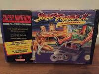 Super Nintendo - Street Fighter II Edition - Boxed