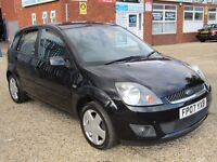 Ford Fiesta 1.6 TDCi Ghia 5dr FULL LEATHER SEATS +AC+ AUX
