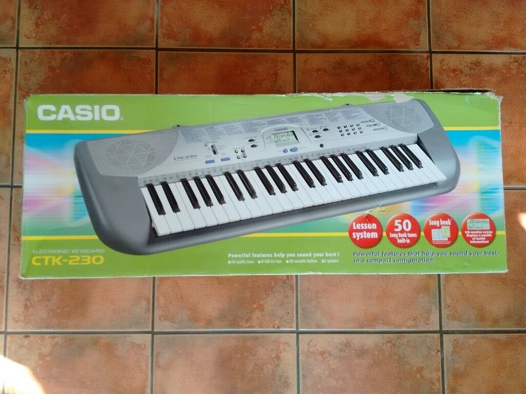Casio CTK-230 Keyboard With Stand | in Guildford, Surrey | Gumtree