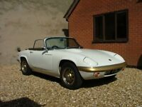 1968 LOTUS ELAN S4 dhc with big valve engine