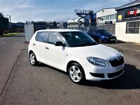 SKODA FABIA 1.2 S, MOT May 2019, Just Serviced, Lokks and drives superb (white) 2011