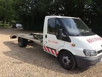 Ford transit recovery truck 16ft body very good runner £2750