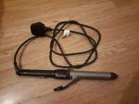 BaByliss hair curling tongs