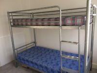 Dreams Metal bunk bed + 2 mattresses