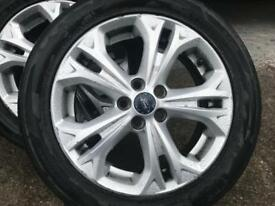"FORD GALAXY TITANIUM S MAX,17"" ALLOYS SET OF 5 NEW SHAPE 2010-2015"
