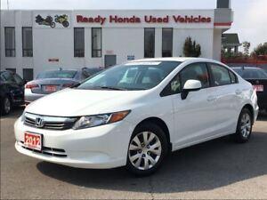 2012 Honda Civic LX  - Bluetooth -  Key-less - New Tires