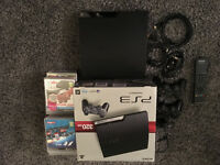 SONY PLAYSTATION 3 320GB 14GAMES 2 CONTROLLERS ETC