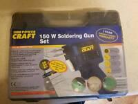 150w Soldering gun.