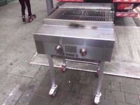 BBQ CHARCOAL FASTFOOD COMMERCIAL MEAT GRILL CATERING MACHINE TAKEAWAY DINER STEAK OUTDOORS CAFE