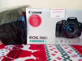 Canon EOS 700D with 135mm IS lens digital camera