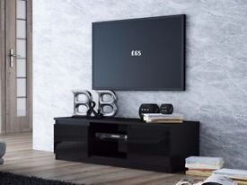 BRAND NEW MODERN TV STAND UNIT RtvFURNITURE BLACK GLOSS WENGE WHITE SONOMA MIX FREE DELIVERY 6