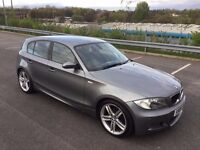 BMW 120 M Sport 120d M SPORT GREY WITH FULL LEATHER only 70,000 MILES