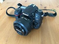 Nikon D7000 DSLR Camera + extras