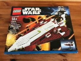 Lego 10215 Obi Wan's Jedi Starfighter, Ultimate Collection Series USC, Complete, Boxed, collectible