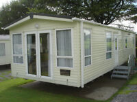 Sited Static Caravan Carnaby Rosedale Central Heating Double Glazing