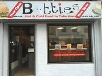 Business Opportunity. Self-contained takeaway Coffee Shop.On the main through Road in West Drayton