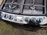 Full gas cooker Parkinson Cowan black