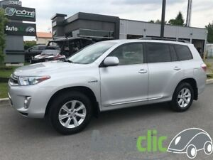 2013 Toyota Highlander Hybrid hybride/ camera recule/radio mp3/b