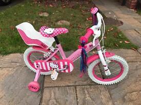 Kids Hello Kitty Bike