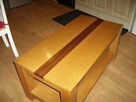 solid wood coffee table harveys