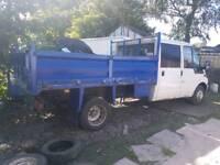 Ford transit tipper ( crew cab )