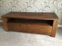 TV Stand Unit - Walnut - Wooden