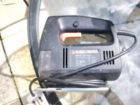 BLACK & DECKER ELECTRIC JIG SAW - No Blades £10 ono
