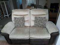3 piece sofa (reclining)