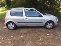 2003 Renault Clio 1.2 MOT September 2018, CD Player
