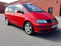 SEPTEMBER 2005 SEAT ALHAMBRA STYLANCE TDI 7 SEATER ONLY 119,000 MILES LONG MOT EXCELLENT CONDITION