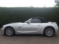 BMW Z4 Convertible for sale (reg yr. 2006), pvt plate.