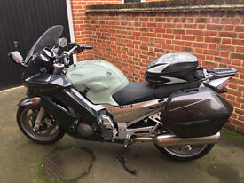 Yamaha FJR 1300AS, The perfect crusing sports bike with many extras