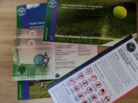 2x Wimbledon Centre Court Tickets for 4th July 2018