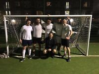 5-a-side football league in Battersea - Teams and individuals wanted!