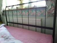 Lovely double bed frame and mattress for sale