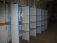 15 bays DEXION impex industrial shelving 2.6M high( storage , pallet racking )