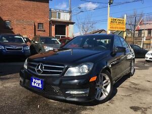 2014 Mercedes-Benz C-Class C300 4MATIC, Leather, Sunroof, LaneCh