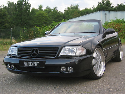 "MH-DEZENT Front Stoßfänger  ""PERFORMANCE-LINE"" Mercedes 600 SL R129 AMG Perfekt!"