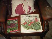 2 x gardening books Reader's Digest Guide to Creative Gardening, hardback. Herb Gardens paperback