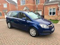 2007 VAUXHALL ZAFIRA 1.6, MOT FULL 12 MONTHS, JUST SERVICED, EXCELLENT DRIVE, HPI CLEAR